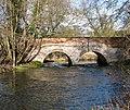 Bridge over the River Thet south of Bridgham - geograph.org.uk - 1703352.jpg