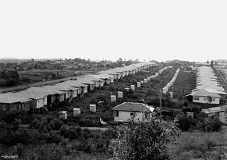 Queensland Housing Commission - Image: Brisbane Suburban Outhouses 1950