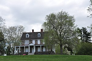 Bristol Township, Bucks County, Pennsylvania - Phineas Pemberton House, built starting 1687