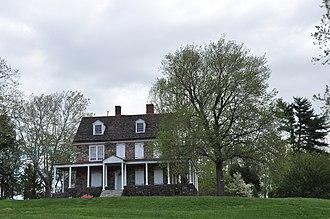 Bristol Township, Bucks County, Pennsylvania - Phineas Pemberton House, built starting 1687