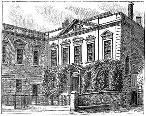 Old Library, Bristol -  alt=Front showing ornamental carving