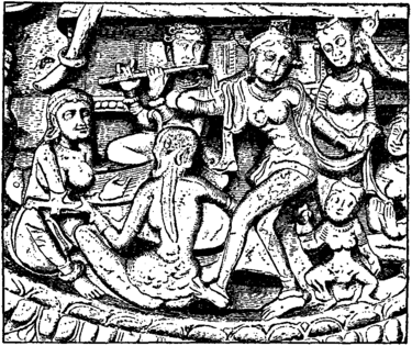 Britannica Flute Gandhara Party with Flute Player.png