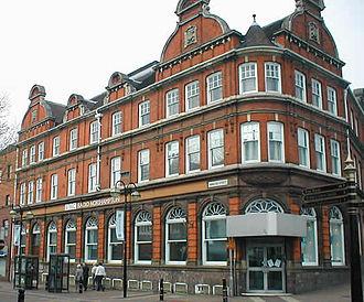 BBC Radio Northampton - Broadcasting House in Abington Street, Northampton