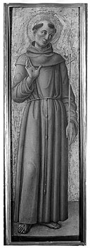 Brooklyn Museum - Saint Francis of Assisi, part of an altarpiece - Bartolomeo Vivarini.jpg