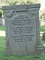 Broom gravestone at St Mary's Tetbury. - geograph.org.uk - 1521355.jpg