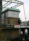 foto van Spanjaardsbrug: brugwachtershuisje