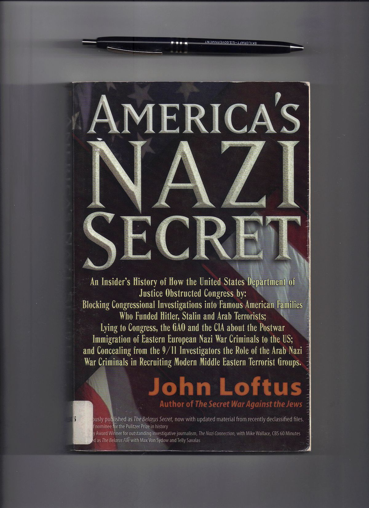John Loftus (author) - Wikipedia