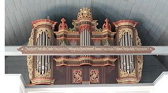 Arp Schnitger - Image: Buelkau 2005 Arp Schnitger Orgel by Ra Boe 01
