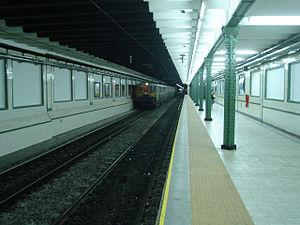 Pasco (Buenos Aires Underground) - Image: Buenos Aires Subte Pasco 2
