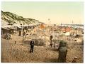Building sand castles, Westerland, Sylt, Schleswig-Holstein, Germany-LCCN2002720671.tif