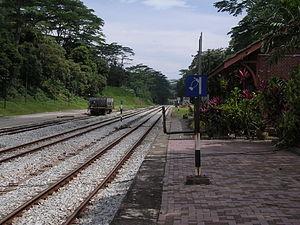 Bukit Timah railway station - Image: Bukit Timah Railway Station, Singapore 20071227