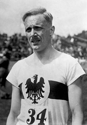 Otto Peltzer - Peltzer in 1928