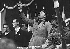 Cronologia del fascismo italiano
