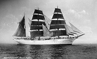 Gorch Fock (1933) - Gorch Fock in the 1930s