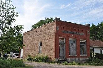Burbank, South Dakota - The old Bank of Burbank building
