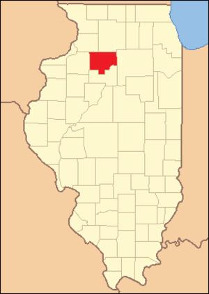 Bureau County, Illinois - Image: Bureau County Illinois 1837
