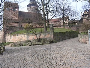 Burgraviate of Nuremberg - The Burgrave's Castle