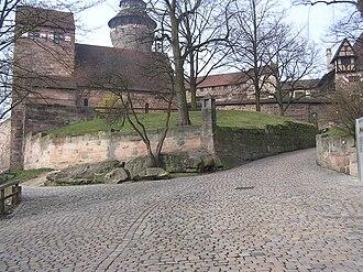 Burgraviate of Nuremberg - The Burgrave's Castle