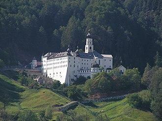 Burgeis - Image: Burgusio Abbazia di Monte Maria