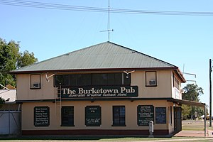 Burketown, Queensland - Burketown pub (since destroyed)