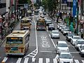 Bus lane in the vicinity of Machida Sta.jpg