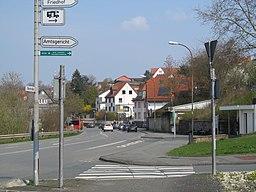 Uferstraße in Frankenberg (Eder)