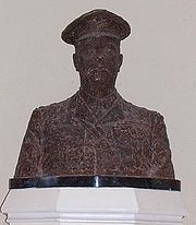 Bust of General Sir Arthur Currie (1969) by Alison MacNeil in Royal Military College of Canada Currie Hall