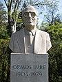 Bust of Imre Ormos by Róbert Csíkszentmihályi, 2003 in Buda Arboreta. - Budapest.JPG