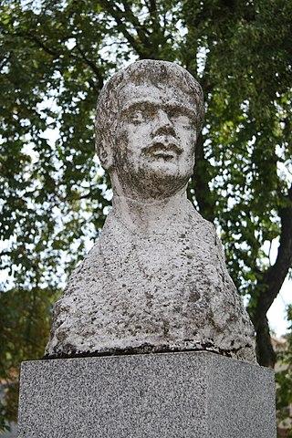 busta Josefa Uhra v Lomnici