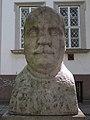 Bust of Károly Szilády, Katona József Park, 2016 Hungary.jpg