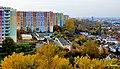 Bydgoszcz - widok z wieżowca przy ulicy szarych Szeregów w kierunku osiedla Wyżyny - panoramio.jpg