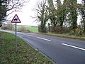 Byway meets road - geograph.org.uk - 1603338.jpg