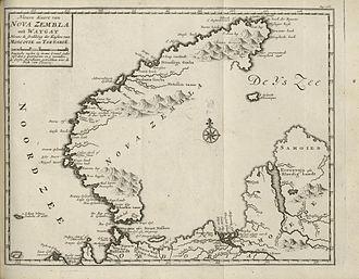 Novaya Zemlya - Image: C.G. Zorgdragers Bloeyende opkomst der aloude en hedendaagsche Groenlandsche visschery no nb digibok 2014010724007 V6