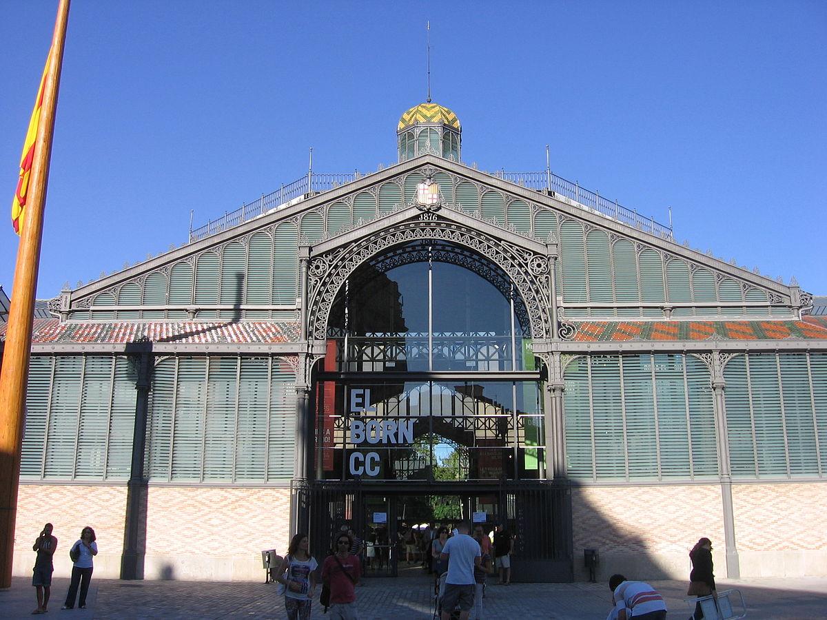 Mercado del borne wikipedia la enciclopedia libre for Hoteles en el born de barcelona