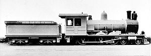 South African type XD tender - Type XD tender on CGR 6th Class of 1901