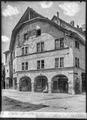 CH-NB - Moudon, Maison bernoise, Façade, vue d'ensemble - Collection Max van Berchem - EAD-7381.tif