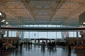 Indianapolis metropolitan area - Indianapolis International Airport's Col. H. Weir Cook Terminal (pictured) opened in 2008 after a $1.1 billion expansion.