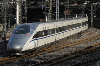 High-speed rail in Indonesia - CRH380A proposed by China.