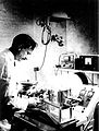 CSIRO ScienceImage 11340 Dr Bruce Fraser at work in the CSIRO Parkville laboratory.jpg