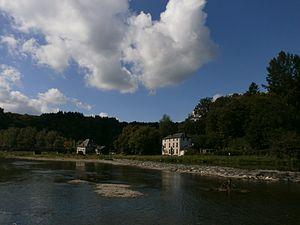 Hubert Pierlot - View of the village of Cugnon where Pierlot was born in 1883