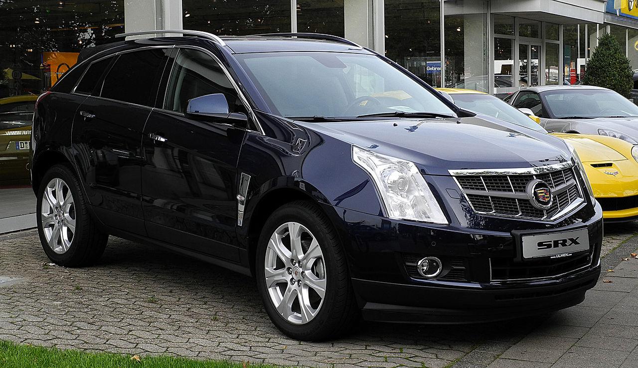File:Cadillac SRX 3.0 V6 AWD Sport Luxury (II ...