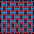 Cairo pentagonal tiling 2-colors-concave.png
