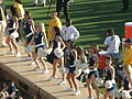 Cal Dance Team at 2008 Big Game 7.JPG