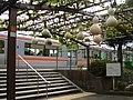 Calabash in Kami-Ōi Station3.jpg