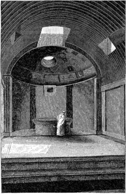 Caldarium of the Old Baths at Pompeii by Overbeck.png