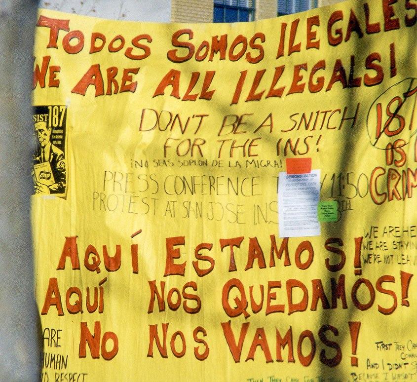 California Santa Cruz illegales