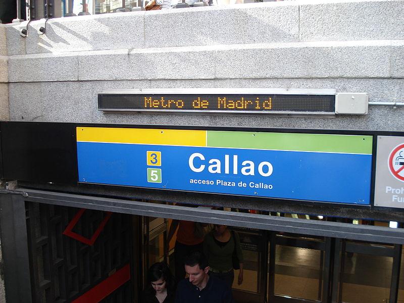 عظيم و أهم شارع في مدريد يوجد به سينمات و