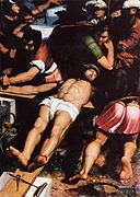Callisto Piazza Da Lodi - Nailing of Christ to the Cross - WGA17411.jpg