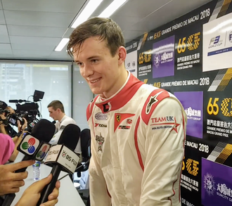 Callum Ilott - British driver Callum Ilott during press conference at the 2018 edition of Macau Grand Prix