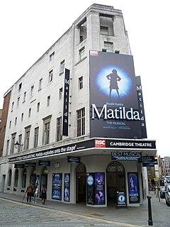 Cambridge Theatre West End theatre in Camden, London, England